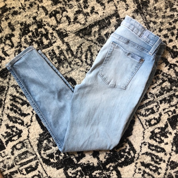 7 For All Mankind Denim - 7 For All Mankind | The Mid Rise Cropper Skinny
